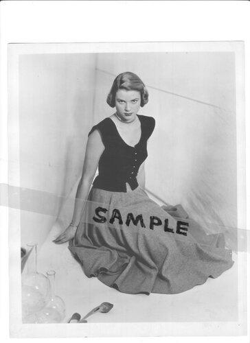 Grace Kelly карточка в модельном агенстве
