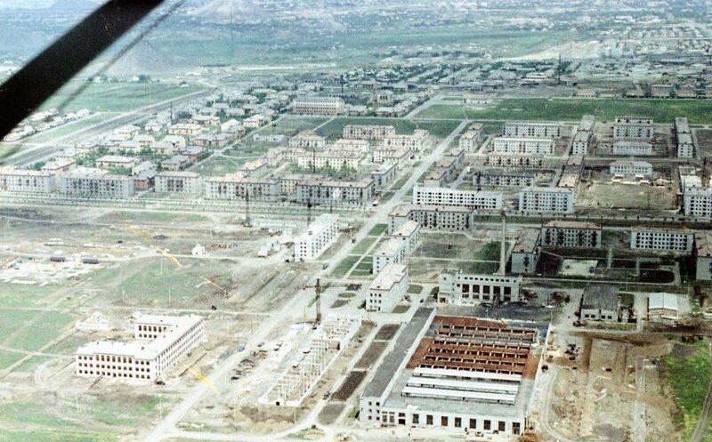 24. Донецк. Аэрофотосъемка начала 1960-х