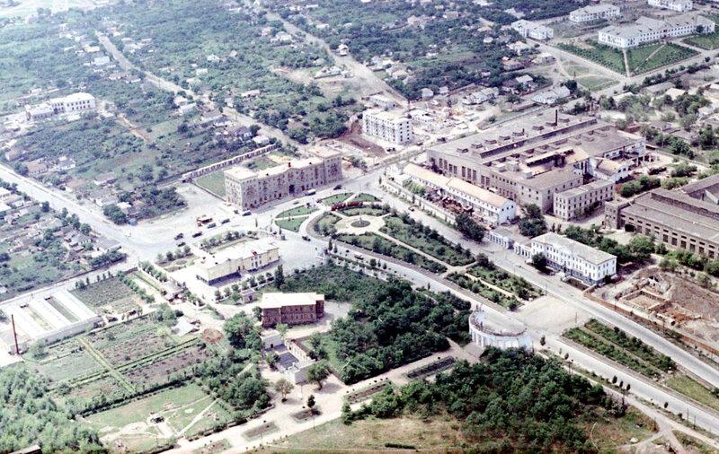 50. Донецк. Аэрофотосъемка начала 1960-х
