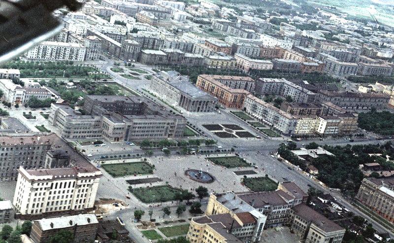 51. Донецк. Аэрофотосъемка начала 1960-х