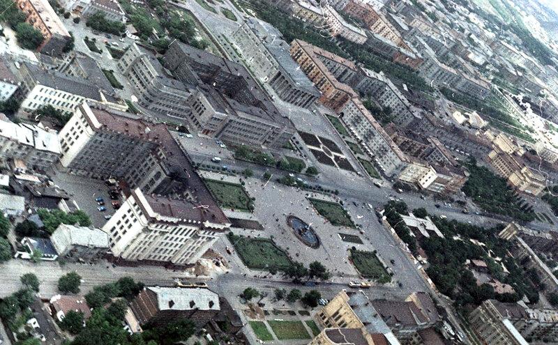 52. Донецк. Аэрофотосъемка начала 1960-х