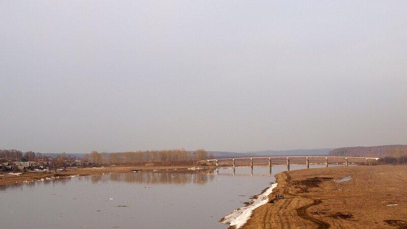 река Пижма весной