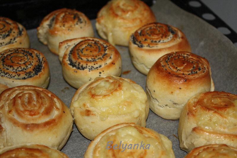 легкие рецепты булочки с маком