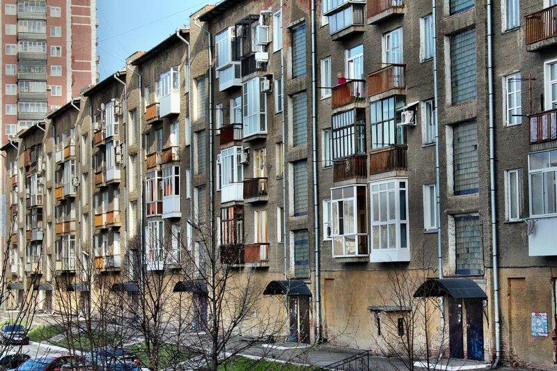 Жилой дом на улице Кирова.