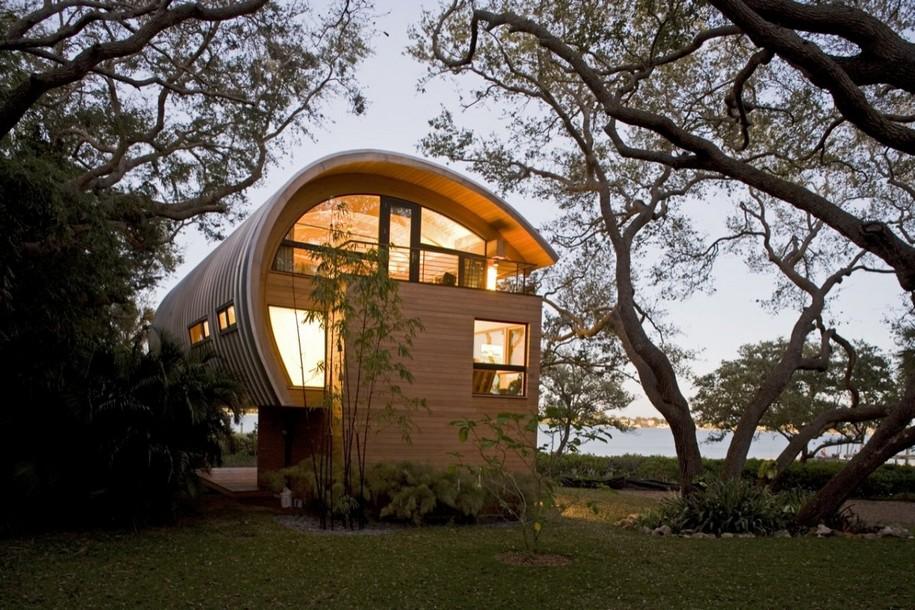 Гостевой домик от TOTeMS Architecture в Кейси Ки, Флорида