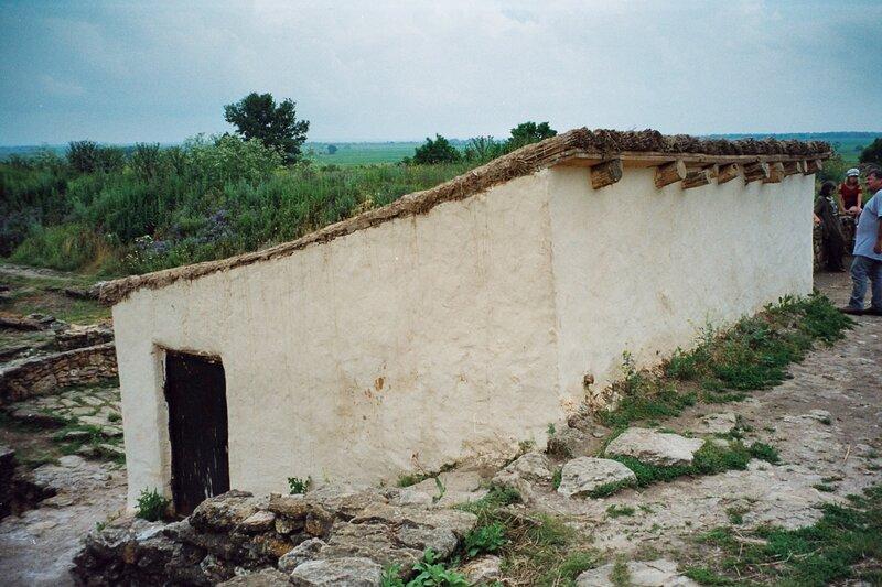 Танаис. Реконструкция жилища танаитов