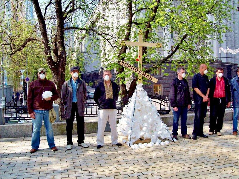 Митинг чернобыльцев 26 апреля 2012 г.