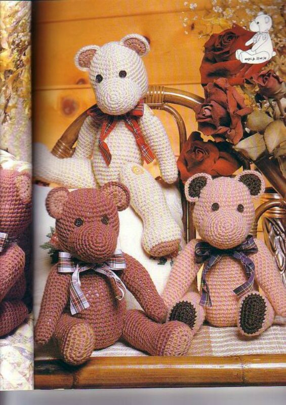 """Mailles Les animaux rigolos "".  Книга по вязанию игрушки."