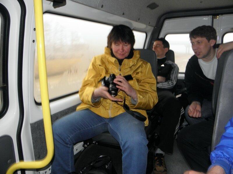 По дороге в Челябинск