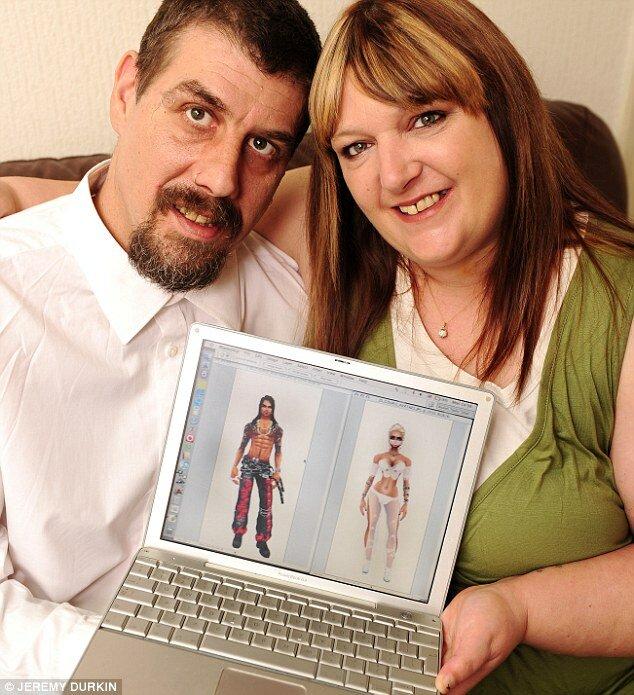 Они обручились в онлайн-игре, а поженились - в реальной жизни