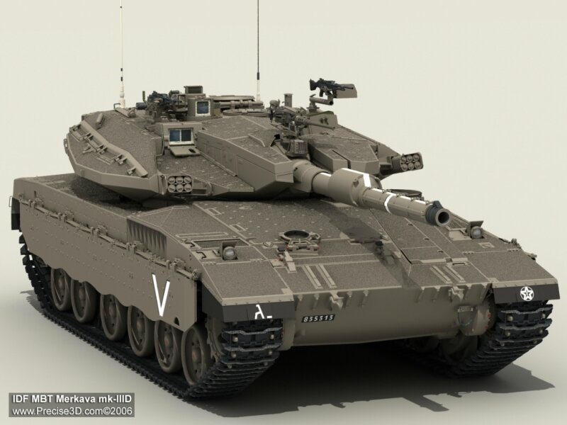танк Меркава Mk1/2/3/4