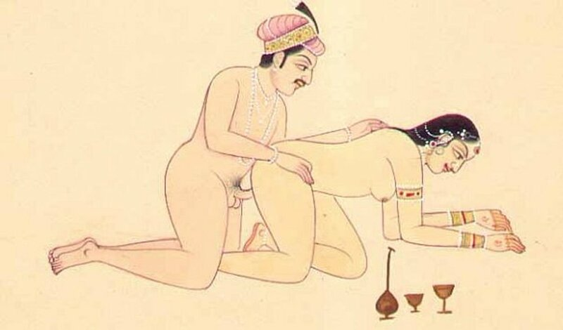 Sex therapy Kamasutra position Congress of cow.