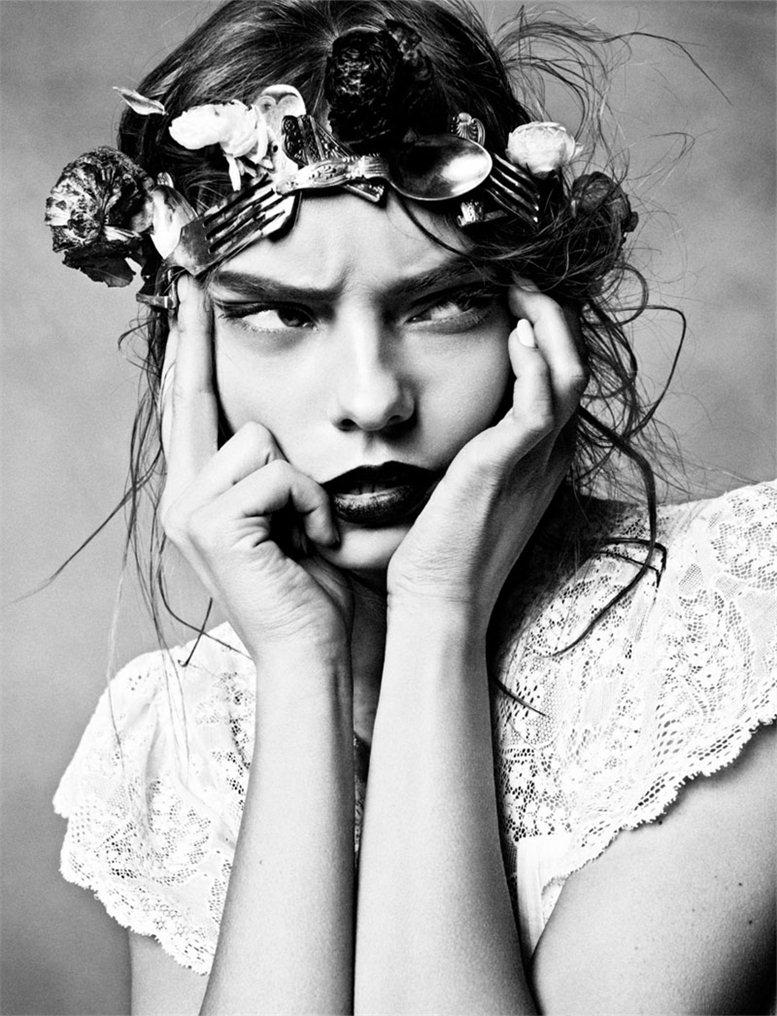 модель Нимью Смит / Nimue Smit, фотограф Txema Yeste