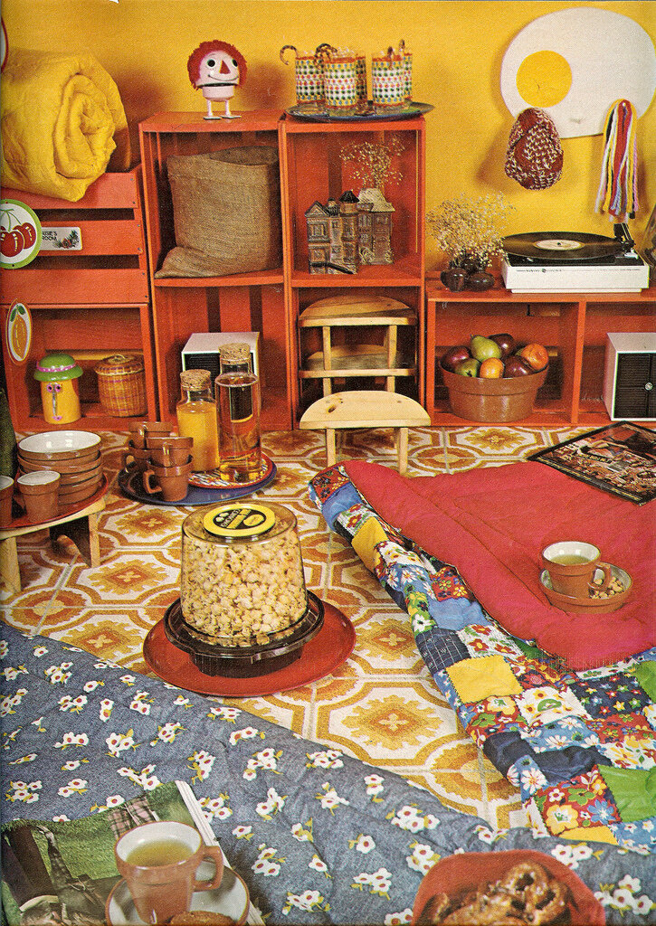 Slumber party, 70's style From Seventeen