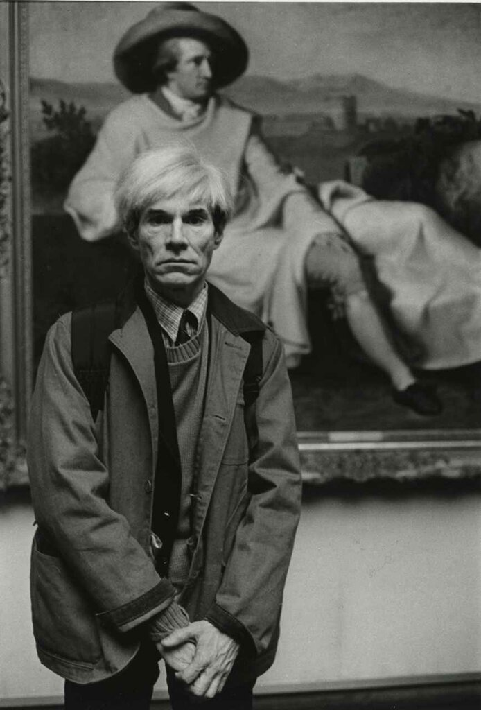 Barbara Klemm: Andy Warhol Frankfurt am Main 1981