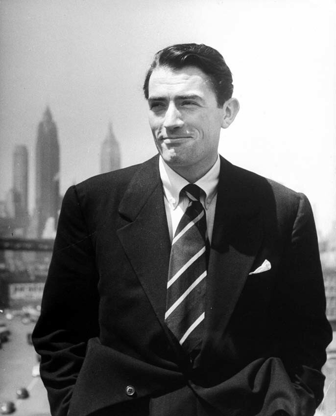 Ator Gregory Peck,1947
