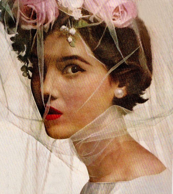 Photo by Irving Penn for Vogue, 1956.