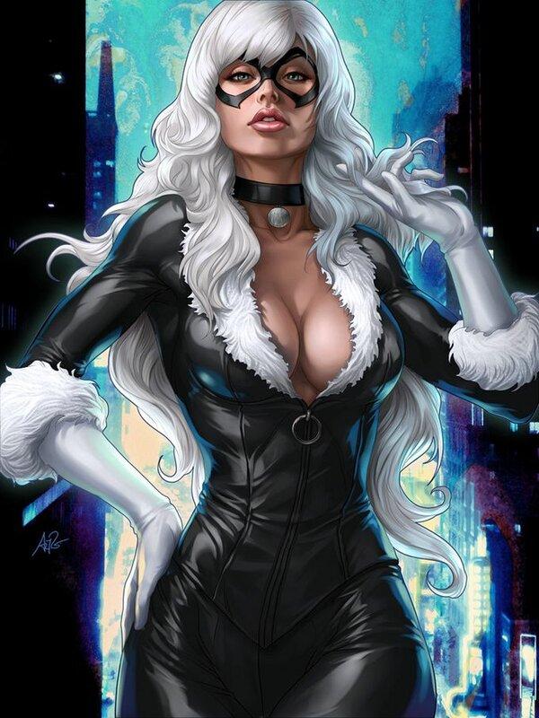 Супергероини в ярких иллюстрациях Стэнли Лау