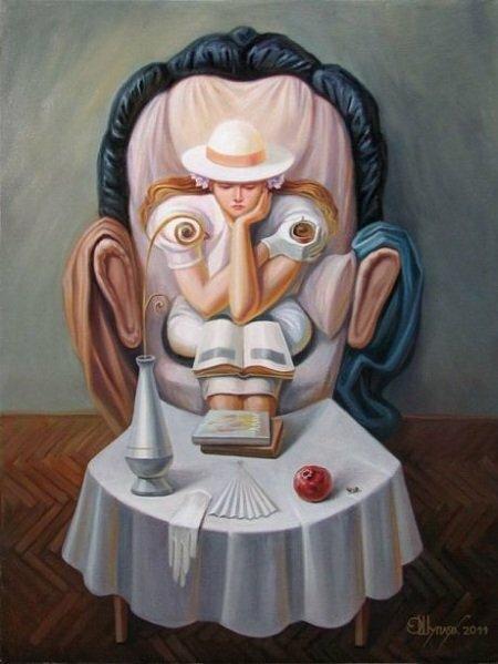 Украинский художник Олег Шупляк