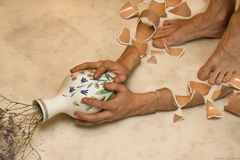 Картинки по запросу разбитая ваза