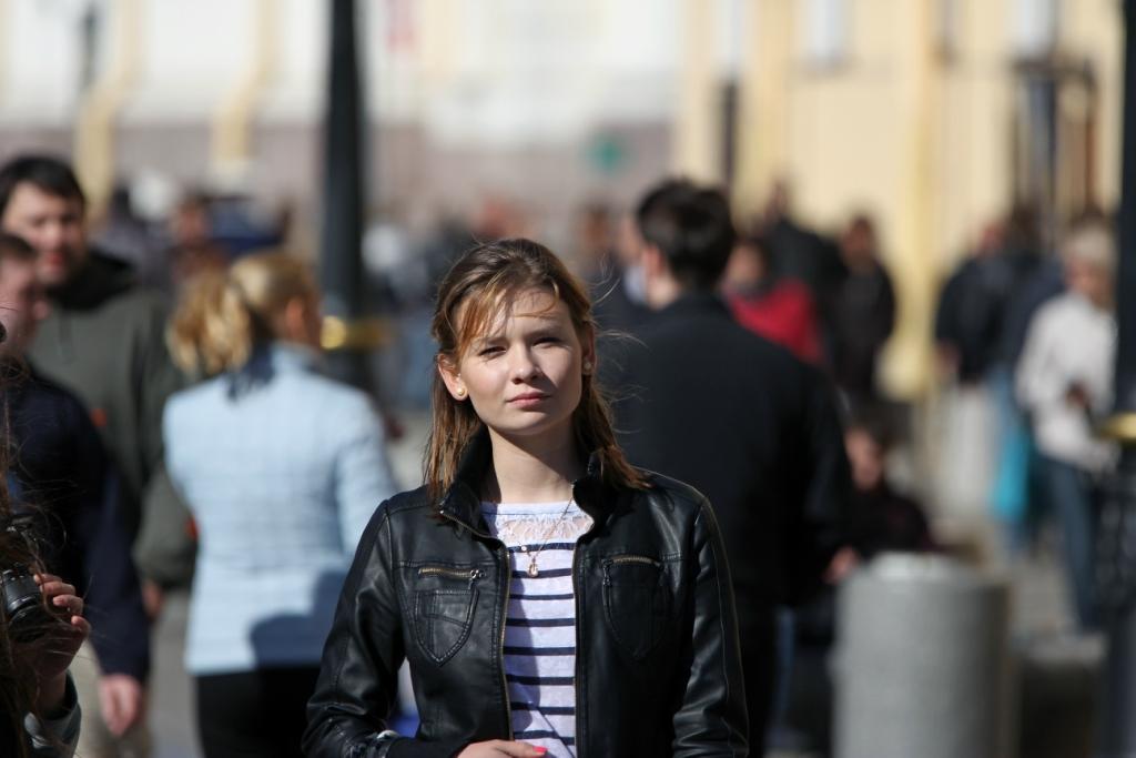 Девушки,Санкт-Петербург,Май