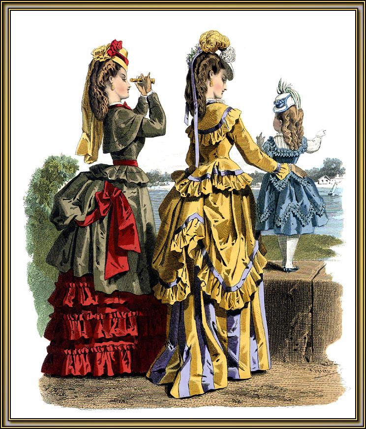 Но по-настоящему в моду баску ввели французы.  В эпоху королевы Виктории этот элемент...  В 20 веке гениальный...