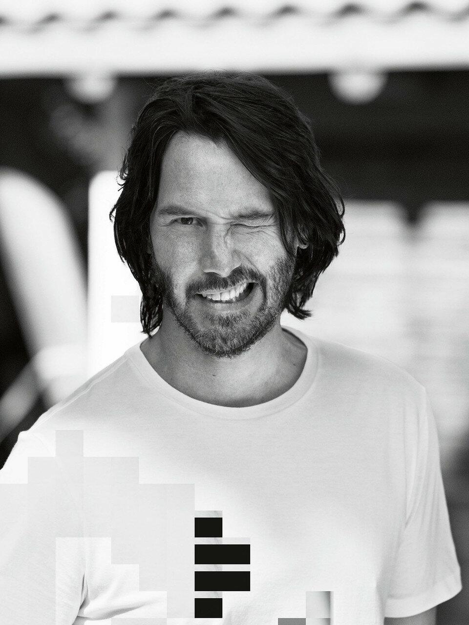 Фотосессия Keanu Reeves (Esquire, февраль 2017)