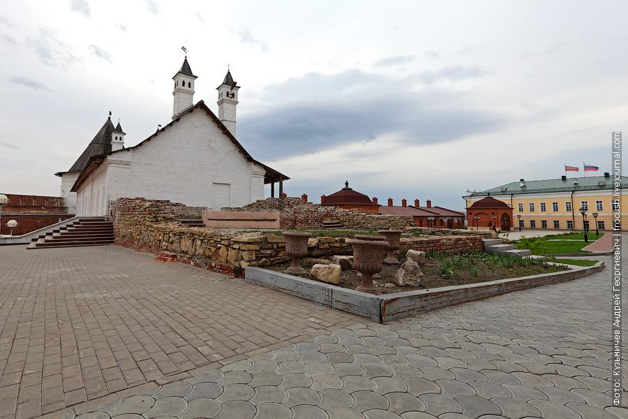 Артиллерийский (Пушечный) двор Казанского кремля