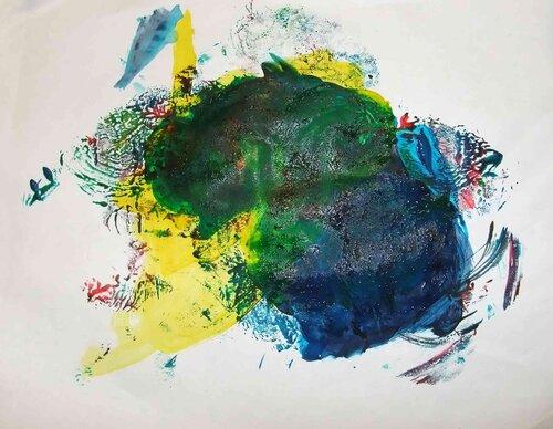 Рисунки красками. Автор: Парамонова Катя