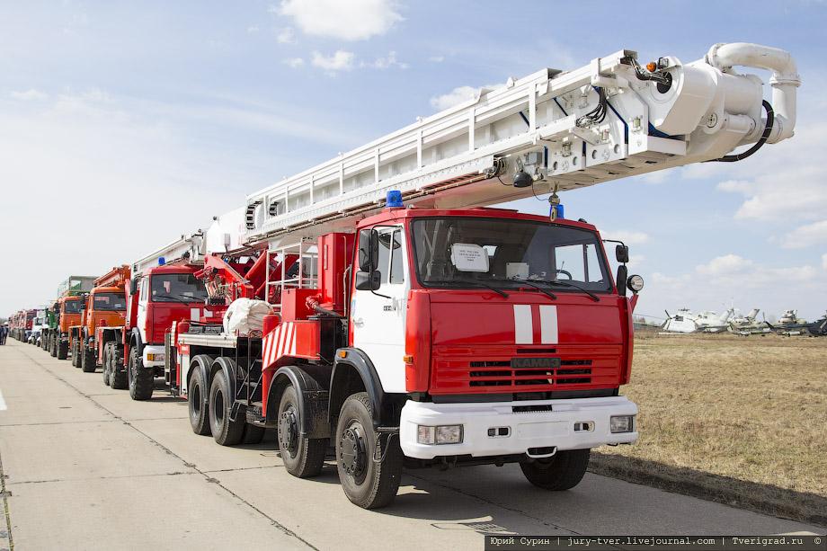 какая бывает пожарная техника