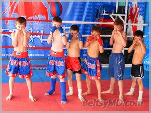 Турнир по тайскому боксу — «Битва карапузов-2» в Бельцах