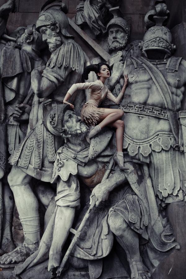 Профессиональная категория: рекламная фотография, 1 место. Екатерина Белинская, «Матриархат».