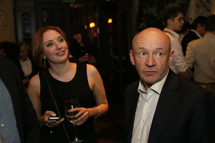 Владимир Платонов и Татьяна Фельгенгауэр