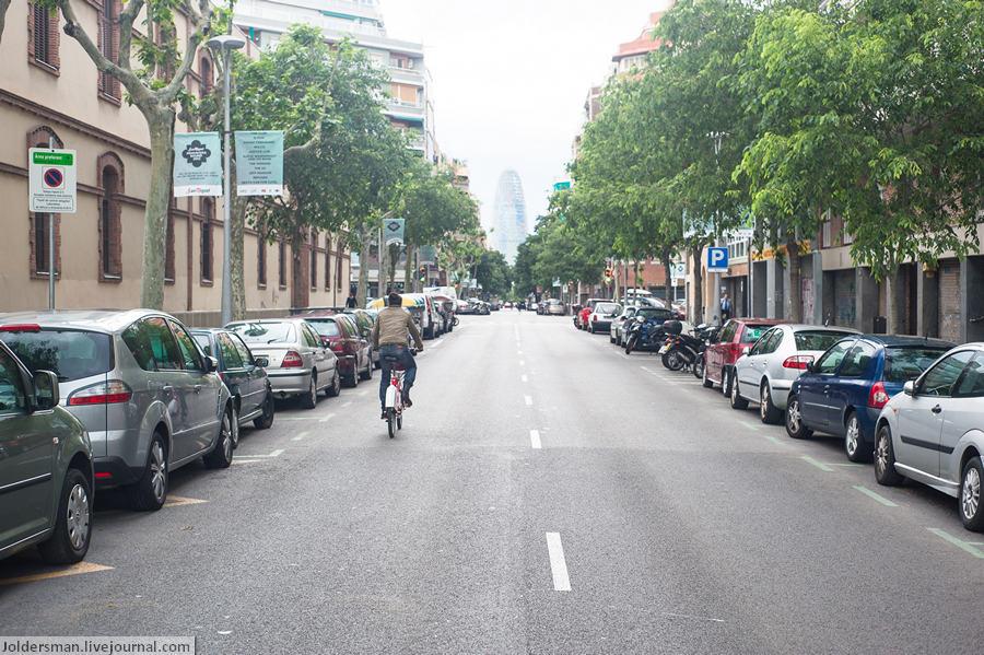 Улицы в Барселоне