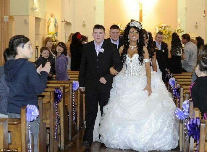 Цыганская свадьба в Англии