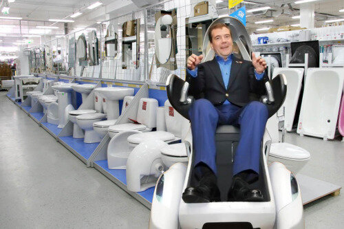 Фотожабы на Медведева
