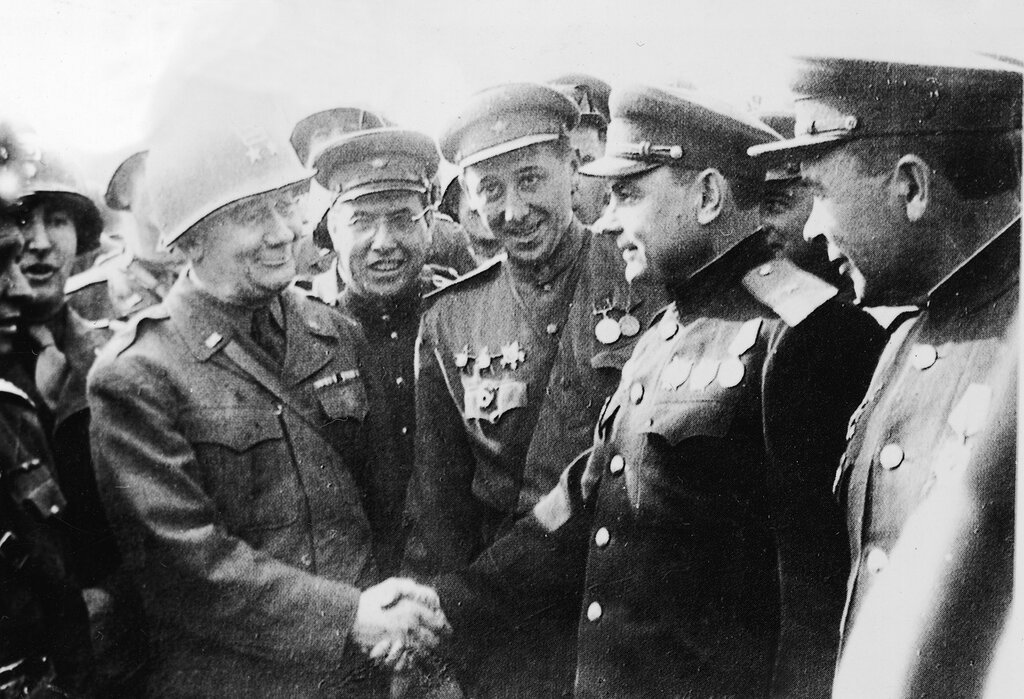 Meeting At Torgau