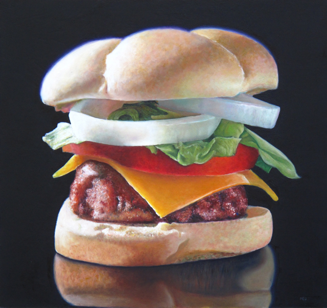 Big Cheesebuger by Mary Ellen Johnson