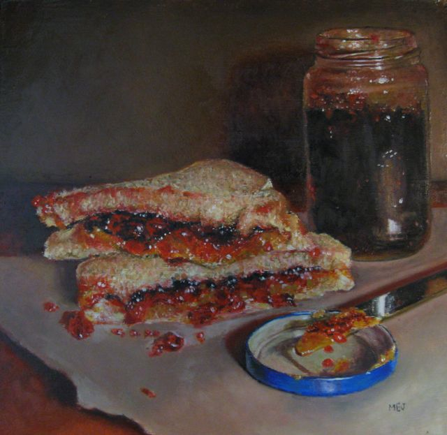 Peanut Butter & Jelly by Mary Ellen Johnson