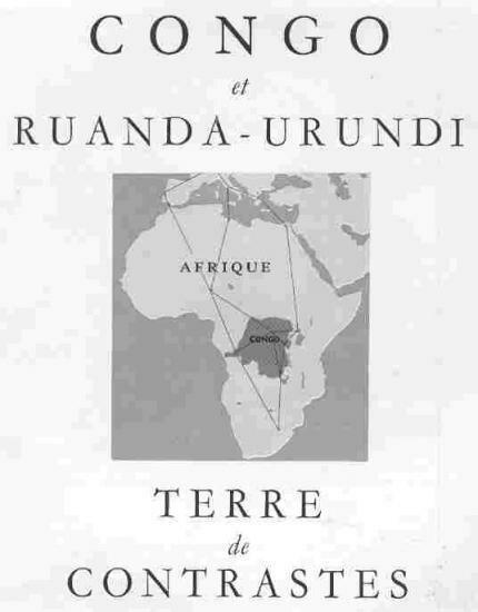 Congo et Ruanda-Urundi