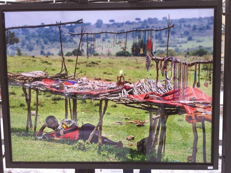 В ожидании клиентов: одна из туристических деревень масаев в Кении
