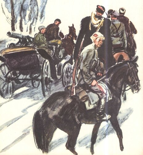 Чапаевские бойцы