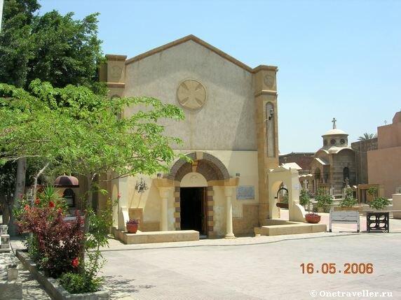 Храм Успения Пресвятой Богородицы в Каире
