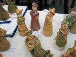 """""""Городские дамы"""" И.Беликовой, г. Липецк, выполненные в традициях романовской игрушки"""