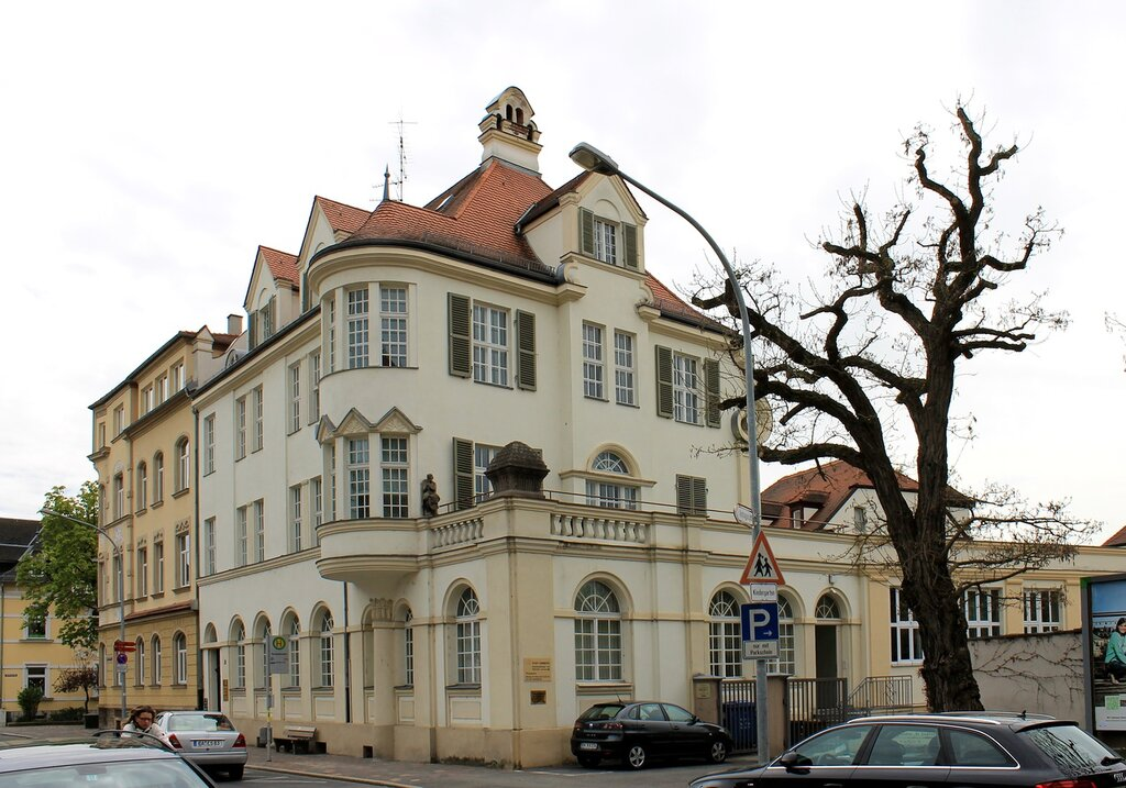 Bamberg. The Herzog-Max-Straße. Herzog-Max-Straße 9