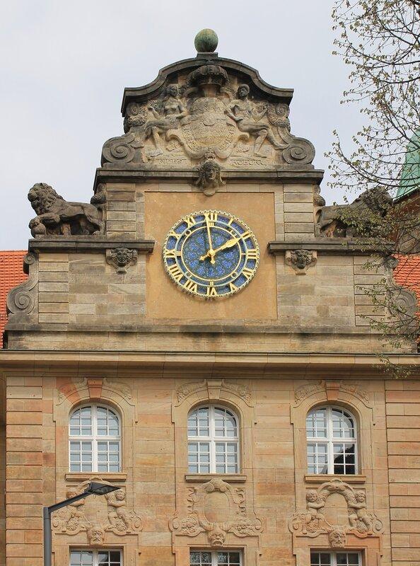 Bamberg. Wilhelmplatz. Wilhelmspost