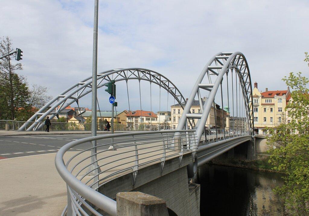 Bamberg. Luitpold bridge (Luitpoldbrücke)
