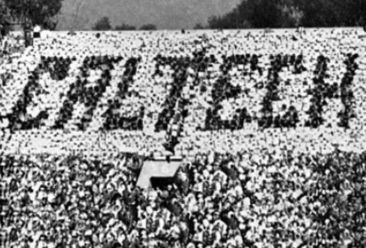 7. Болельщики регби Caltech Во время проведения межвузовского чемпионата по регби в 1961 году студен