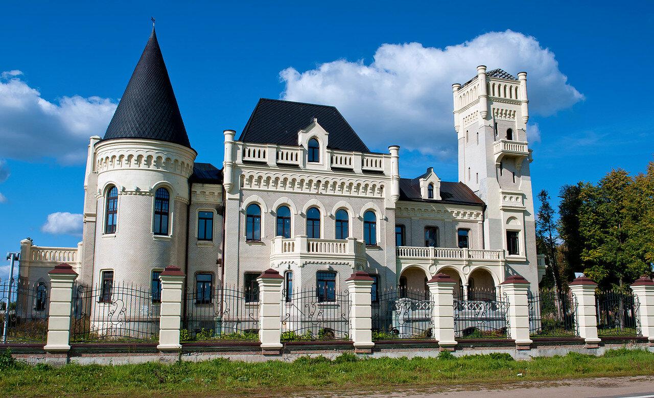 Замок Понизовкина в Красном Пофинтерне.