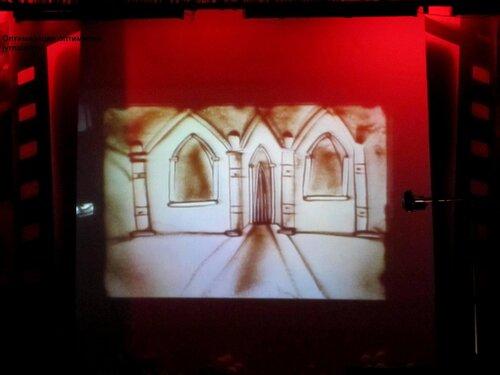 песочная анимация студии первый луч